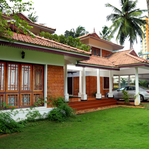 Kerala traditional house plans with courtyard www for Traditional house plans in kerala