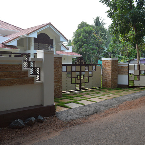 Compound Wall and Gate