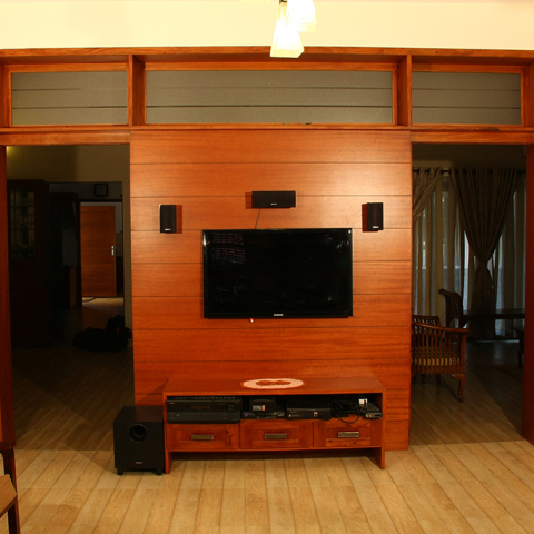 TV room / Living room partition