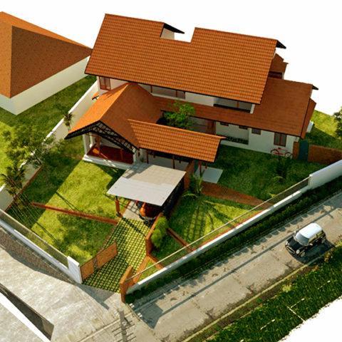 Residence of Mr.Ojas